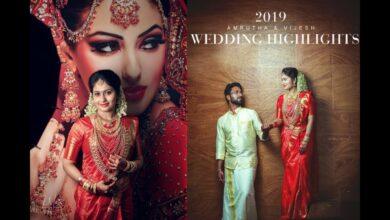 Kerala Traditional Hindu wedding Amrutha ♥ Vijesh