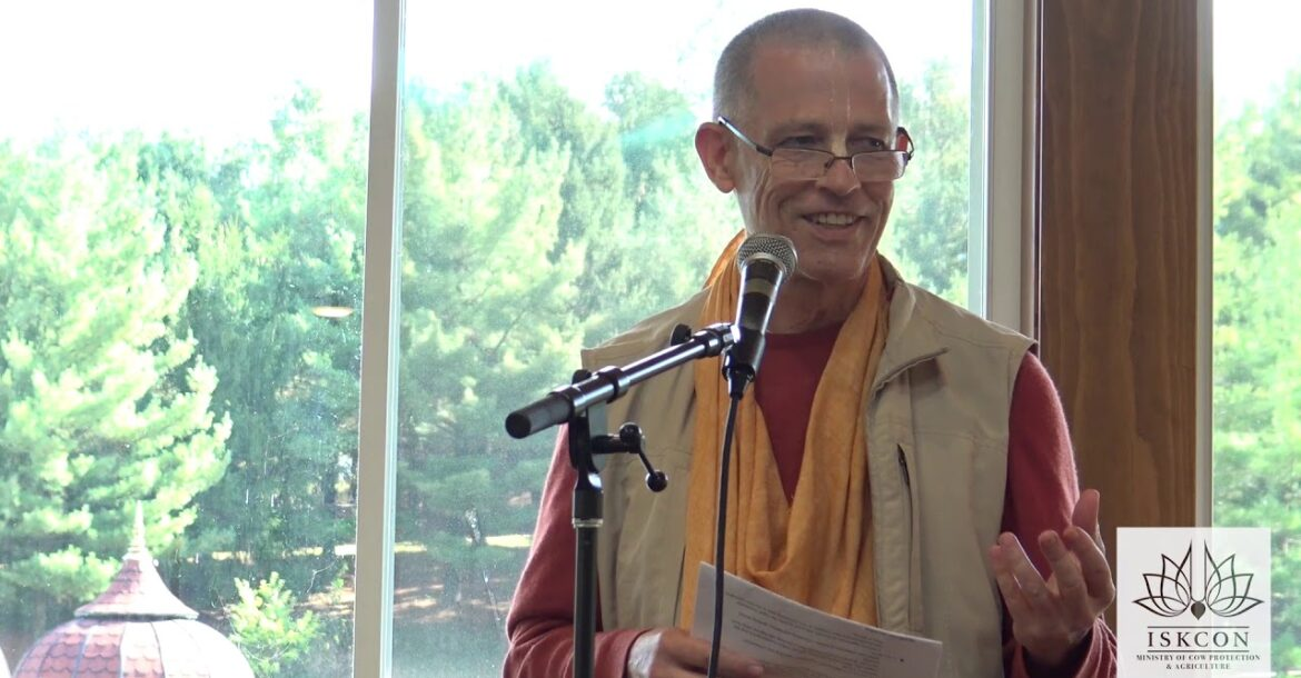 Krishna Ksetra Swami - Keeping Cows in the Center - 3rd North American Farm Conference - 10/4/19