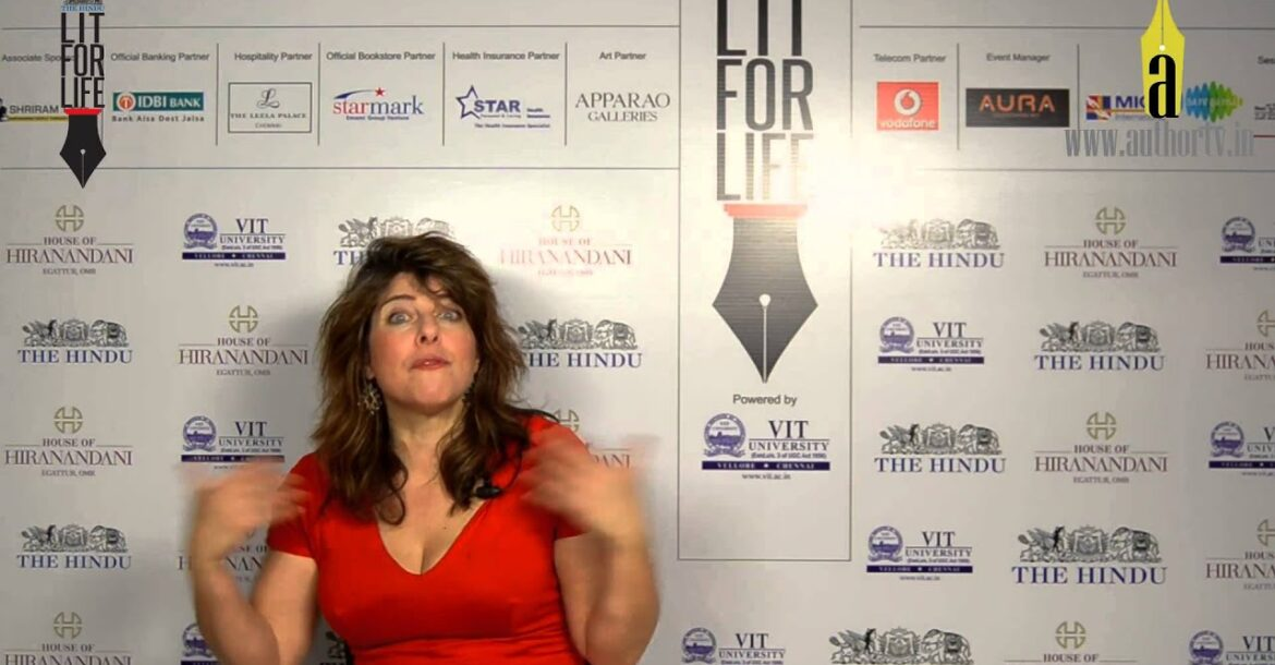 Naomi Wolf at The Hindu Lit for Life 2014
