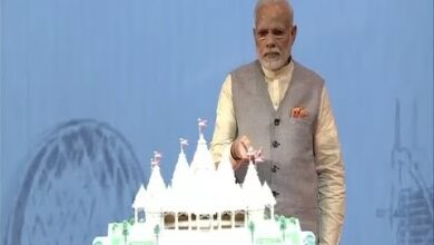 PM Modi Inaugurates of Abu Dhabi's First Hindu Temple Project 11/02/18