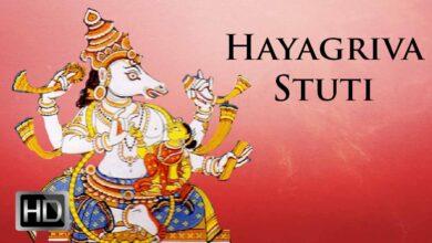 Prayers for Children - Sri Hayagriva Stuti - Listen and Learn - Prema Rengarajan
