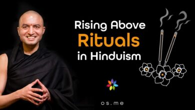 Rising above Physical Rituals in Hinduism [Hindi with English CC]