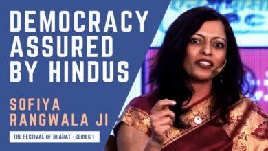 S1: If Hindus Become a Minority, Say Goodbye to India's Democracy |  Dr. Sofiya Rangwala ji