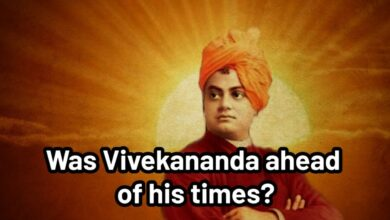 Was Vivekananda ahead of his times?