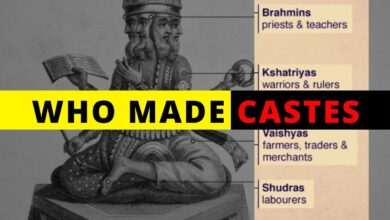 Who created CASTES in Hinduism- Gods, Bhramins or Society? Origin of Caste in India.