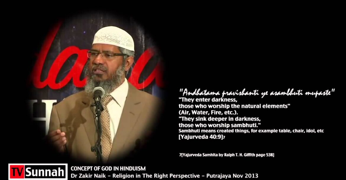 Concept of God in Hinduism   Dr Zakir Naik