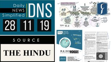 Daily News Simplified 28-11-19 (The Hindu Newspaper - Current Affairs - Analysis for UPSC/IAS Exam)