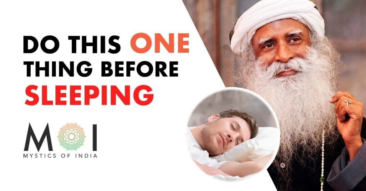 Do This Meditation Before Sleeping By Sadhguru - RESTRUCTURE YOUR MIND (Your Life Will Change) | MOI