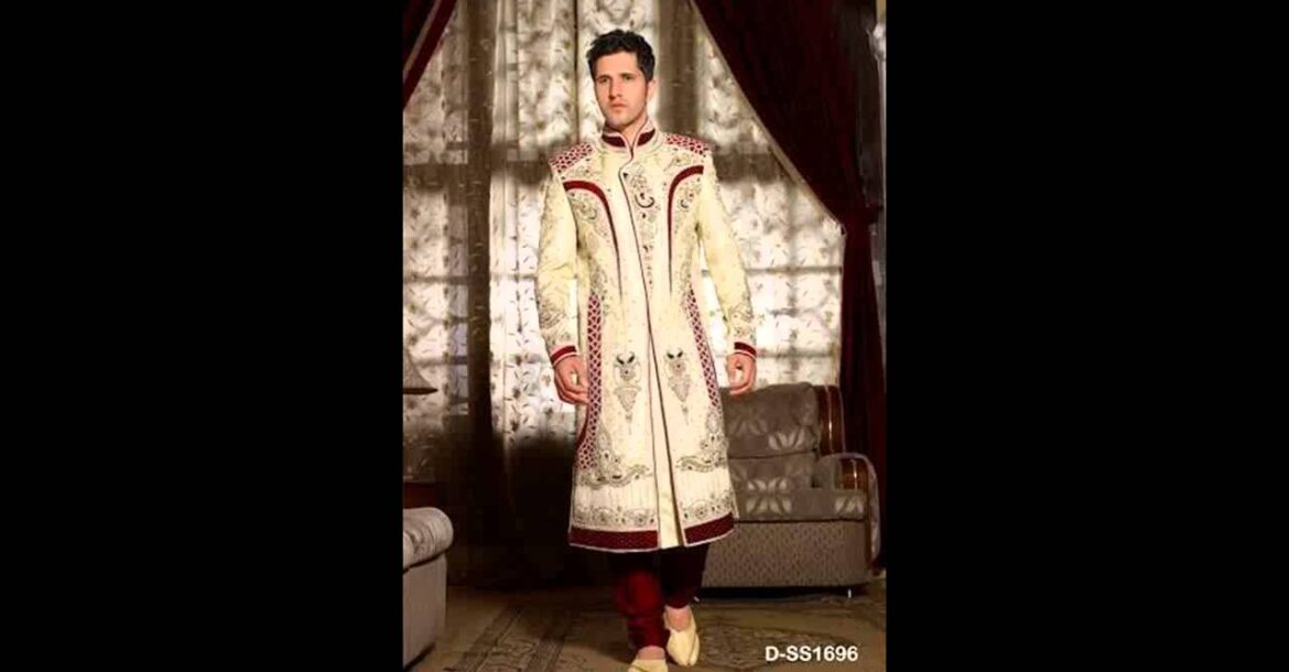 Indian Top Designer Wedding Dresses For men By Saheli Couture