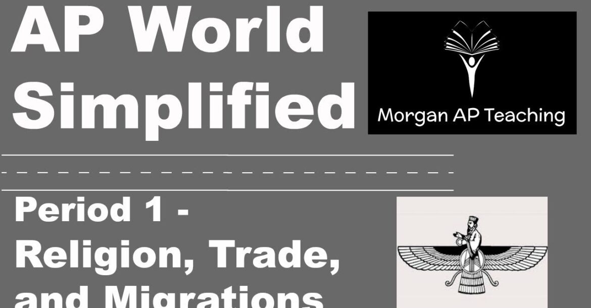 AP World Simplified - Period 1- Religion, Migrations, and Trade