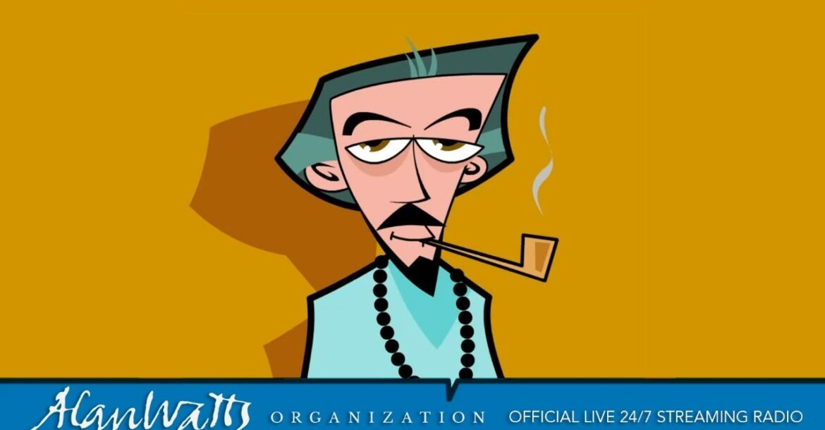 Alan Watts Organization Official - Live 24/7 Streaming Radio - No Music -Talks Full, Rare, & Free
