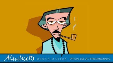 Alan Watts Organization Official - Live 24/7 Streaming Radio - No Music -Talks Full, Rare, & Free