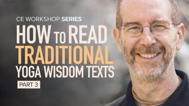 CE Workshop | How to Read Traditional Yoga Wisdom Texts