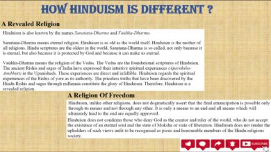 How Hinduism is Different?