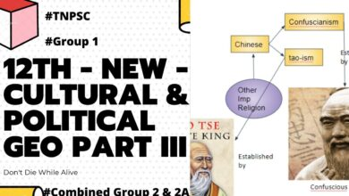 Racial, linguistic groups and major tribes TNPSC  Cultural & Political Geography 12th Std New - III