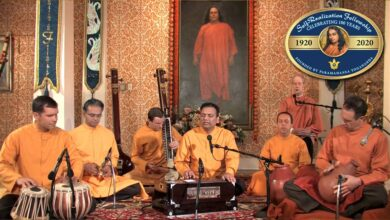 Three-Hour Meditation With Kirtan Led by SRF Monks Kirtan Group | 2020 SRF Online World Convocation