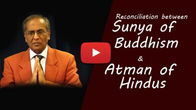 Reconciliation between Sunya of Buddhism and Atman of Hindus