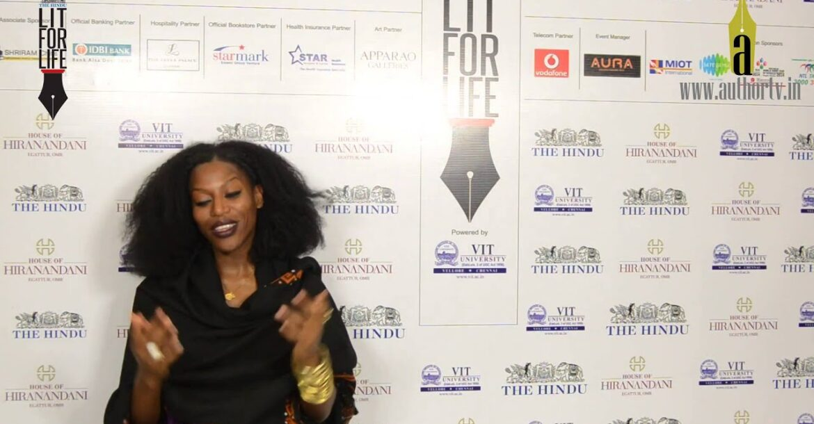 Taiye Selasi at The Hindu Lit for Life 2014